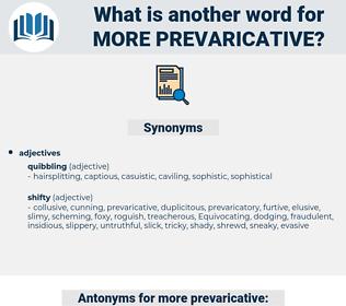 more prevaricative, synonym more prevaricative, another word for more prevaricative, words like more prevaricative, thesaurus more prevaricative
