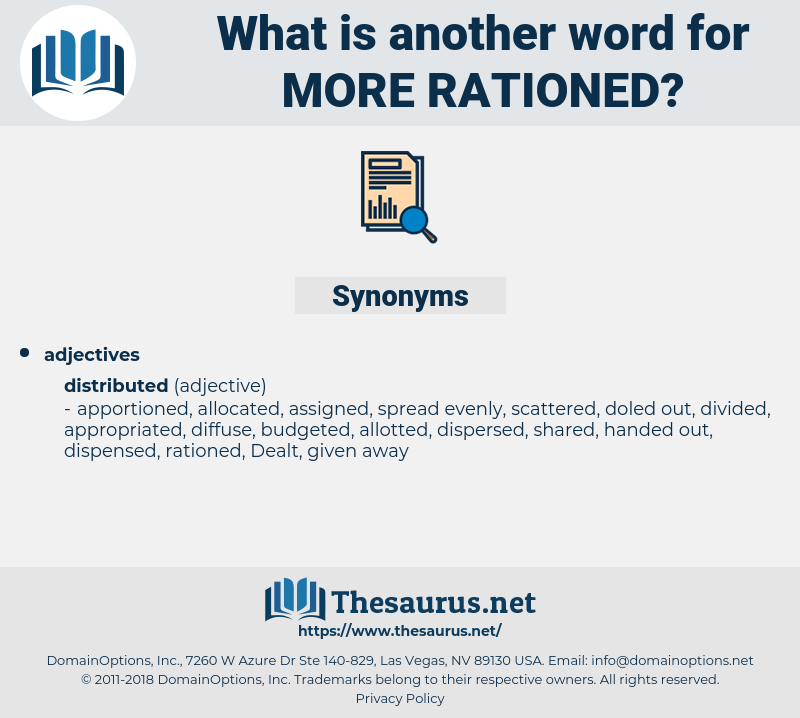 more rationed, synonym more rationed, another word for more rationed, words like more rationed, thesaurus more rationed