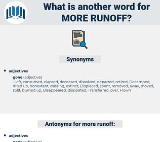 more runoff, synonym more runoff, another word for more runoff, words like more runoff, thesaurus more runoff
