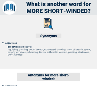 more short winded, synonym more short winded, another word for more short winded, words like more short winded, thesaurus more short winded