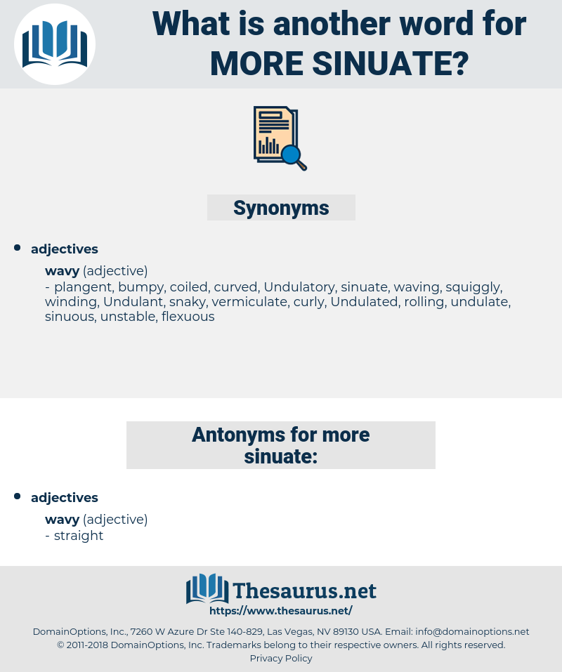 more sinuate, synonym more sinuate, another word for more sinuate, words like more sinuate, thesaurus more sinuate