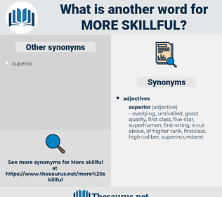 more skillful, synonym more skillful, another word for more skillful, words like more skillful, thesaurus more skillful