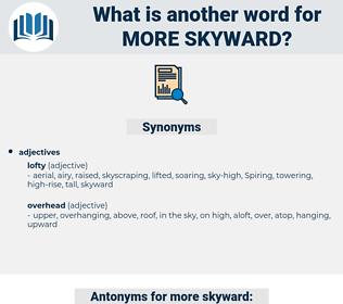 more skyward, synonym more skyward, another word for more skyward, words like more skyward, thesaurus more skyward