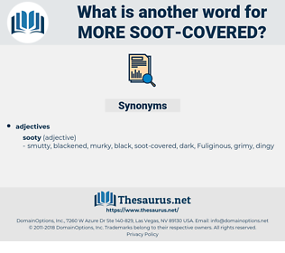 more soot-covered, synonym more soot-covered, another word for more soot-covered, words like more soot-covered, thesaurus more soot-covered