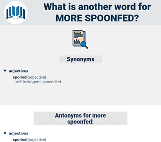 more spoonfed, synonym more spoonfed, another word for more spoonfed, words like more spoonfed, thesaurus more spoonfed