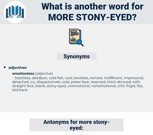 more stony eyed, synonym more stony eyed, another word for more stony eyed, words like more stony eyed, thesaurus more stony eyed