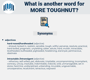 more toughnut, synonym more toughnut, another word for more toughnut, words like more toughnut, thesaurus more toughnut