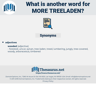 more treeladen, synonym more treeladen, another word for more treeladen, words like more treeladen, thesaurus more treeladen