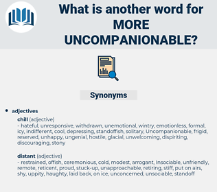 more uncompanionable, synonym more uncompanionable, another word for more uncompanionable, words like more uncompanionable, thesaurus more uncompanionable