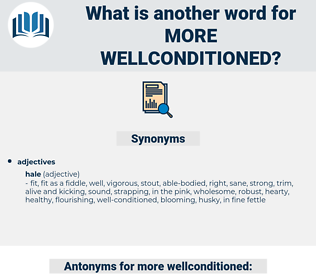 more wellconditioned, synonym more wellconditioned, another word for more wellconditioned, words like more wellconditioned, thesaurus more wellconditioned
