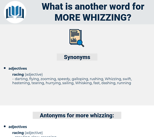 more whizzing, synonym more whizzing, another word for more whizzing, words like more whizzing, thesaurus more whizzing