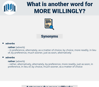 more willingly, synonym more willingly, another word for more willingly, words like more willingly, thesaurus more willingly