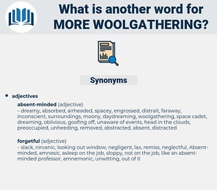more woolgathering, synonym more woolgathering, another word for more woolgathering, words like more woolgathering, thesaurus more woolgathering