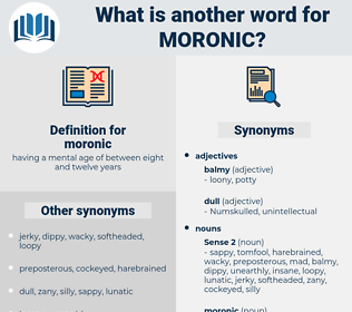 moronic, synonym moronic, another word for moronic, words like moronic, thesaurus moronic