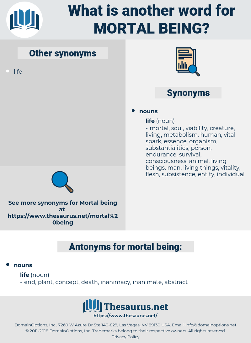 mortal being, synonym mortal being, another word for mortal being, words like mortal being, thesaurus mortal being