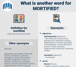 mortified, synonym mortified, another word for mortified, words like mortified, thesaurus mortified