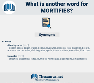 mortifies, synonym mortifies, another word for mortifies, words like mortifies, thesaurus mortifies