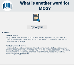 Mos, synonym Mos, another word for Mos, words like Mos, thesaurus Mos