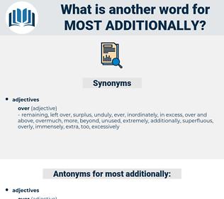 most additionally, synonym most additionally, another word for most additionally, words like most additionally, thesaurus most additionally