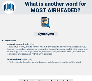 most airheaded, synonym most airheaded, another word for most airheaded, words like most airheaded, thesaurus most airheaded