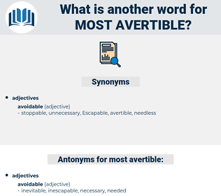 most avertible, synonym most avertible, another word for most avertible, words like most avertible, thesaurus most avertible