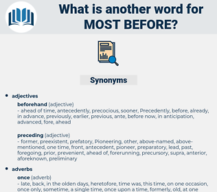 most before, synonym most before, another word for most before, words like most before, thesaurus most before