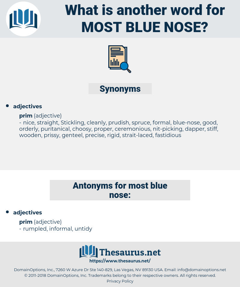 most blue nose, synonym most blue nose, another word for most blue nose, words like most blue nose, thesaurus most blue nose