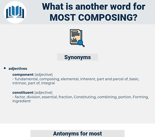 most composing, synonym most composing, another word for most composing, words like most composing, thesaurus most composing