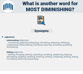 most diminishing, synonym most diminishing, another word for most diminishing, words like most diminishing, thesaurus most diminishing