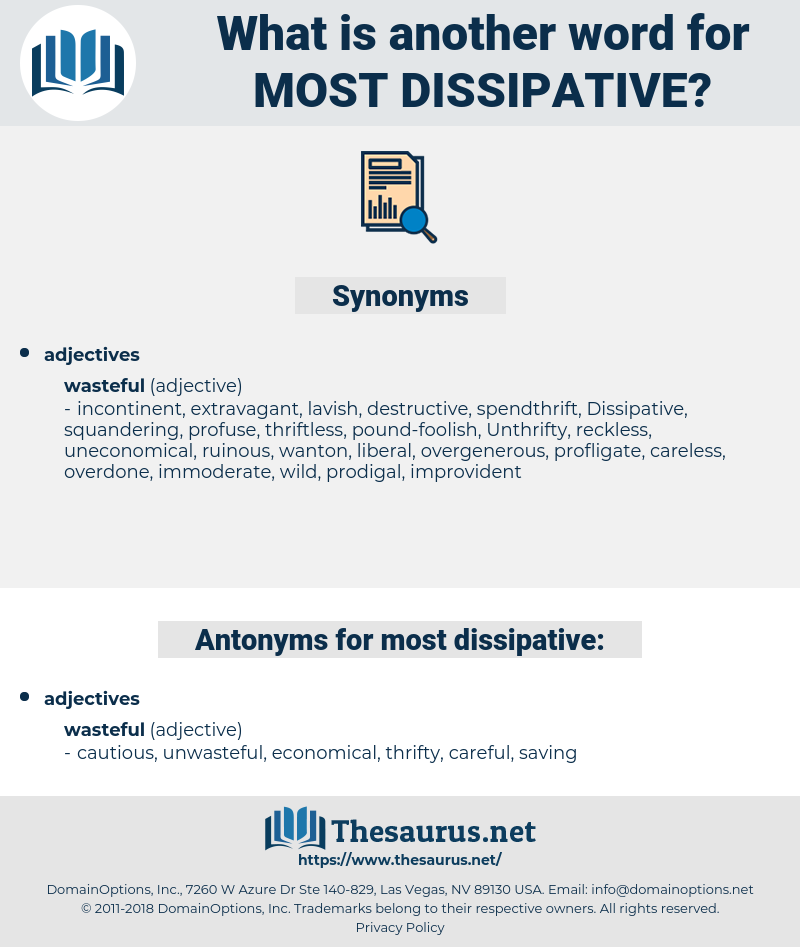 most dissipative, synonym most dissipative, another word for most dissipative, words like most dissipative, thesaurus most dissipative
