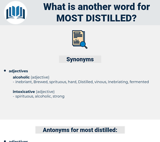 most distilled, synonym most distilled, another word for most distilled, words like most distilled, thesaurus most distilled