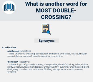 most double crossing, synonym most double crossing, another word for most double crossing, words like most double crossing, thesaurus most double crossing