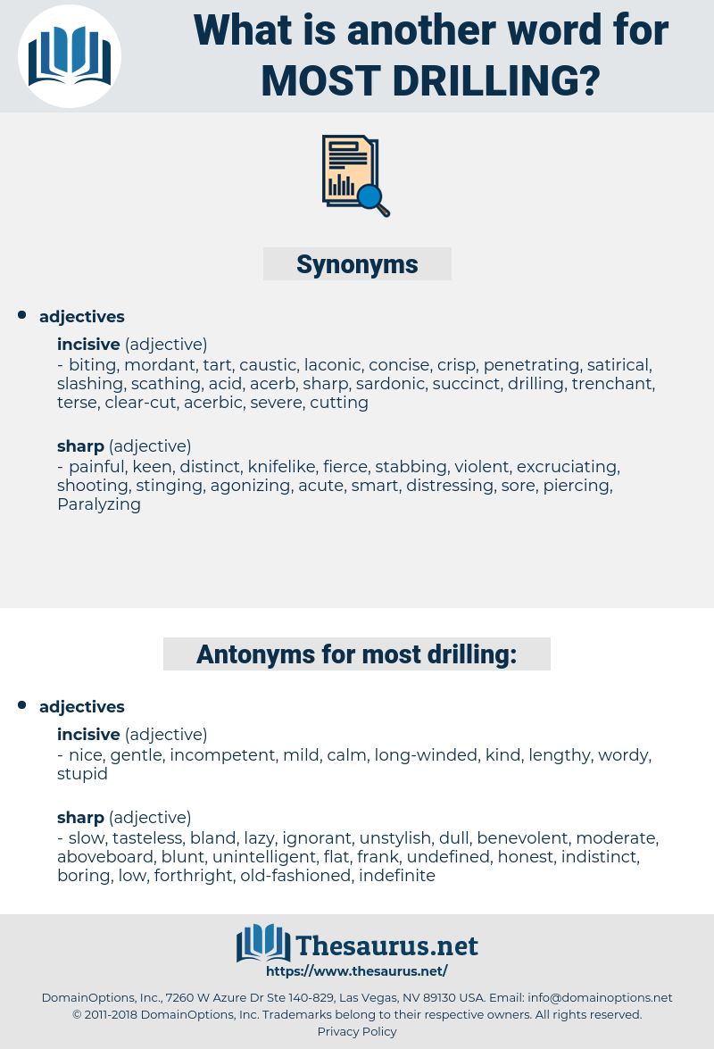 most drilling, synonym most drilling, another word for most drilling, words like most drilling, thesaurus most drilling