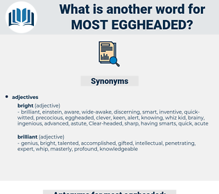 most eggheaded, synonym most eggheaded, another word for most eggheaded, words like most eggheaded, thesaurus most eggheaded