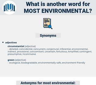 most environmental, synonym most environmental, another word for most environmental, words like most environmental, thesaurus most environmental