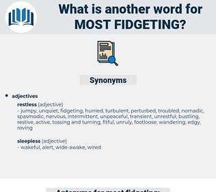 most fidgeting, synonym most fidgeting, another word for most fidgeting, words like most fidgeting, thesaurus most fidgeting