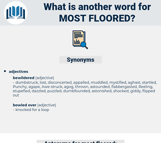 most floored, synonym most floored, another word for most floored, words like most floored, thesaurus most floored