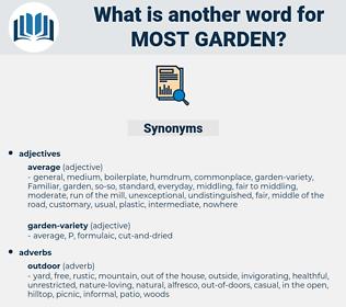 most garden, synonym most garden, another word for most garden, words like most garden, thesaurus most garden