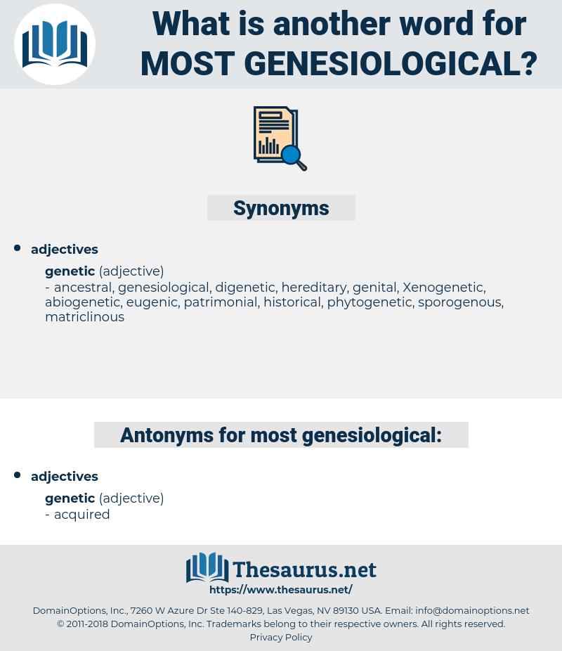 most genesiological, synonym most genesiological, another word for most genesiological, words like most genesiological, thesaurus most genesiological