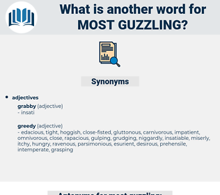 most guzzling, synonym most guzzling, another word for most guzzling, words like most guzzling, thesaurus most guzzling