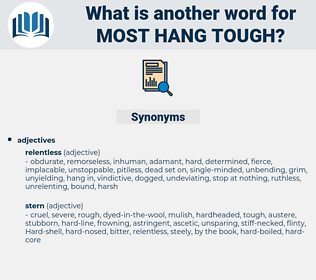 most hang-tough, synonym most hang-tough, another word for most hang-tough, words like most hang-tough, thesaurus most hang-tough