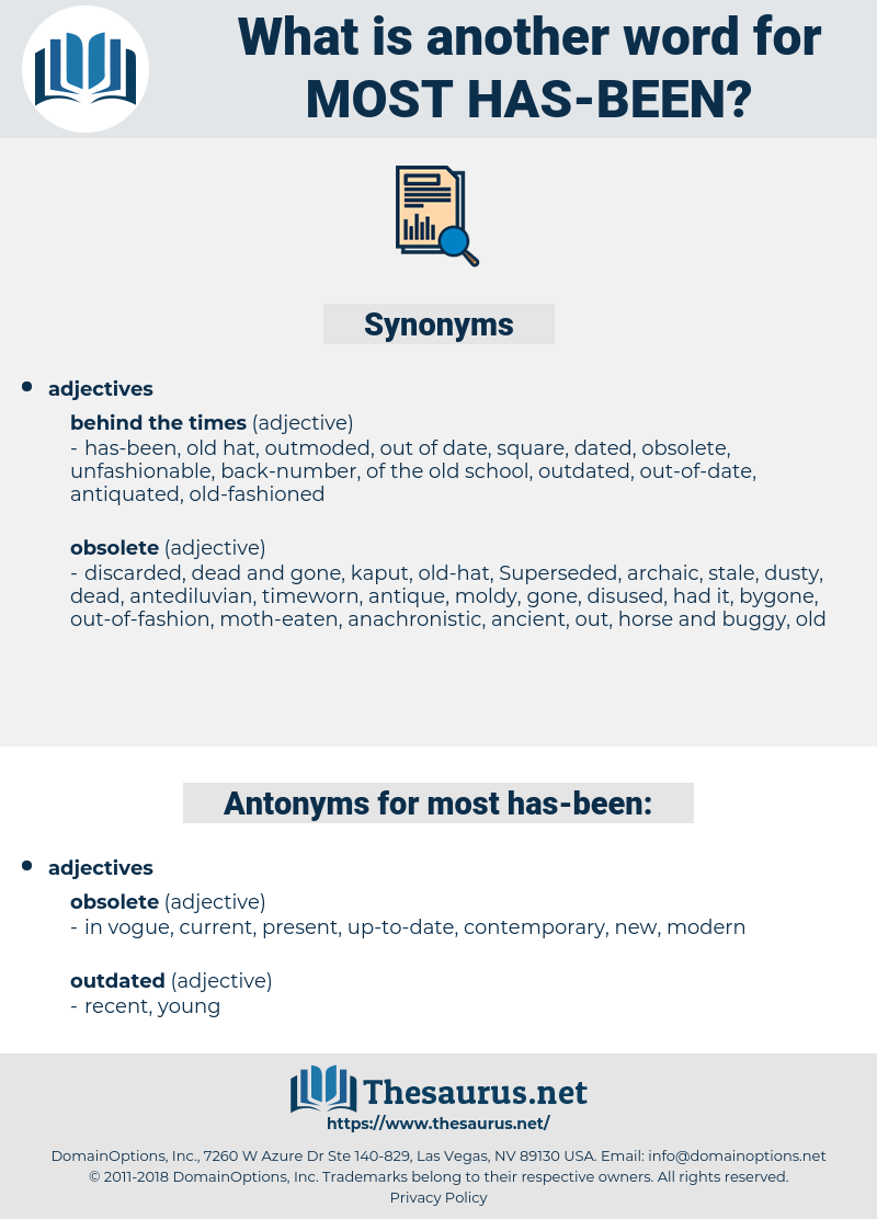 most has been, synonym most has been, another word for most has been, words like most has been, thesaurus most has been