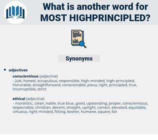most highprincipled, synonym most highprincipled, another word for most highprincipled, words like most highprincipled, thesaurus most highprincipled