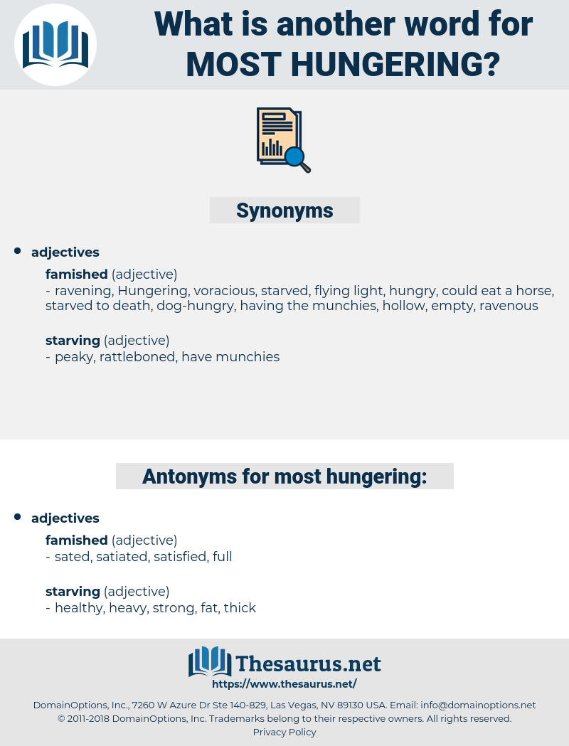 most hungering, synonym most hungering, another word for most hungering, words like most hungering, thesaurus most hungering