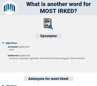 most irked, synonym most irked, another word for most irked, words like most irked, thesaurus most irked
