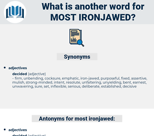 most ironjawed, synonym most ironjawed, another word for most ironjawed, words like most ironjawed, thesaurus most ironjawed