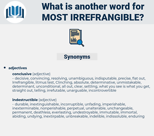 most irrefrangible, synonym most irrefrangible, another word for most irrefrangible, words like most irrefrangible, thesaurus most irrefrangible