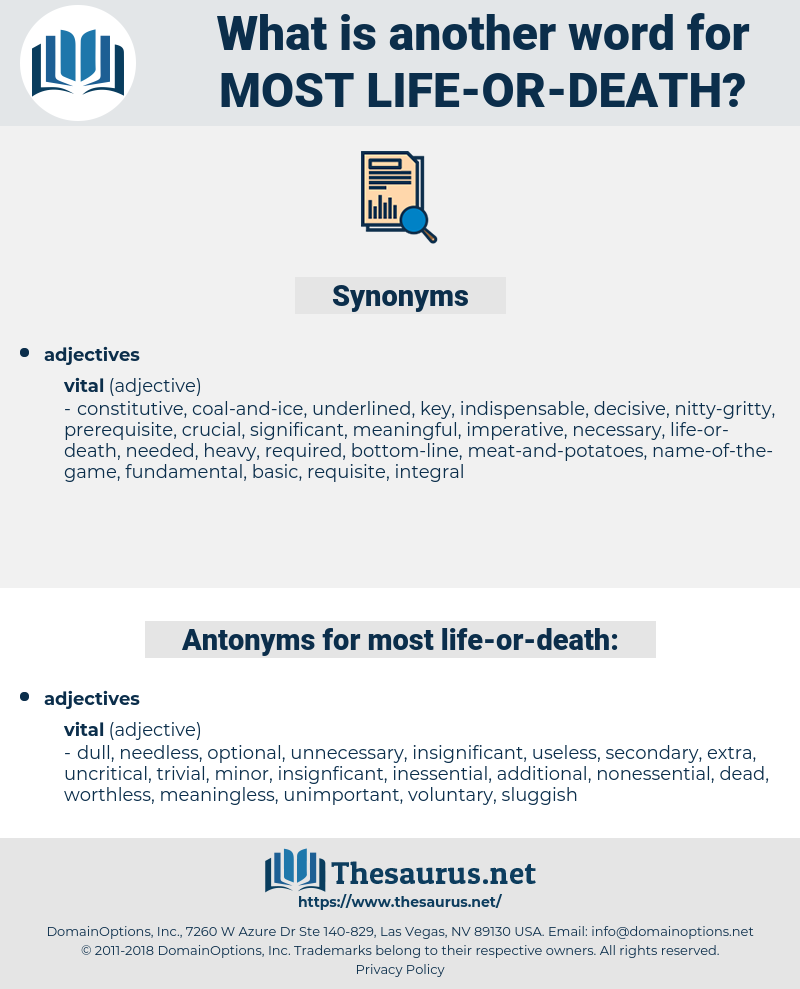 most life-or-death, synonym most life-or-death, another word for most life-or-death, words like most life-or-death, thesaurus most life-or-death