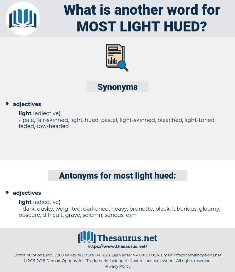 most light-hued, synonym most light-hued, another word for most light-hued, words like most light-hued, thesaurus most light-hued