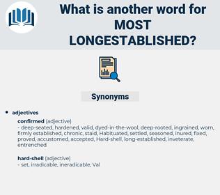 most longestablished, synonym most longestablished, another word for most longestablished, words like most longestablished, thesaurus most longestablished